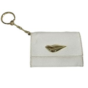 DVF leather card case wallet